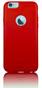 iNature - Miljövänligt Mobilskal - Tomatröd - iPhone 4/4s