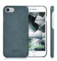 Mobilskal i Äkta Läder / Eko-Läder - iPhone 7 & 8 Kalibri Blå