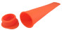 Miljövänliga & Giftfria Isglassformar - 1st Orange