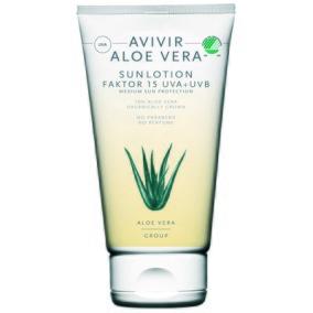 Ekologisk Solkräm med Aloevera - SPF 15