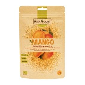 Mangopulver Frystorkad 125g -
