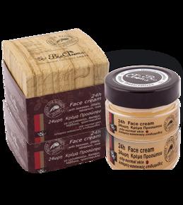 100% Natural 24h Face Cream