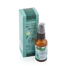 100% Natural Face/Eye Serum