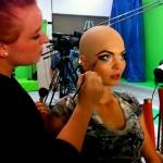 Jobbade som maskassistent på en webserie i LA som hette Space Turkey