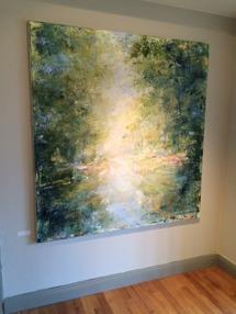 Målning av Åsa Eriksson i Wärdshuset