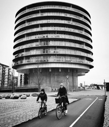 Köpenhamn - kanske vårt runda höghus ska få denna höjd och form? Foto: instagramkonto saltis77