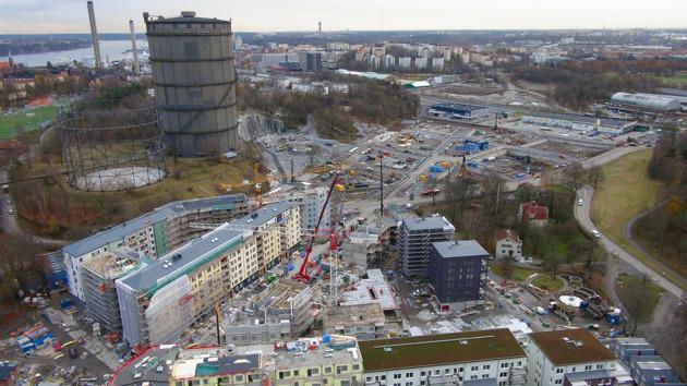 Norra Djurgårdsstaden. Foto: Stefan Söderström