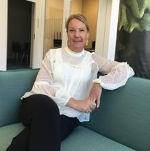 Anna Järås på Swedbank i Norra Djurgårdsstaden