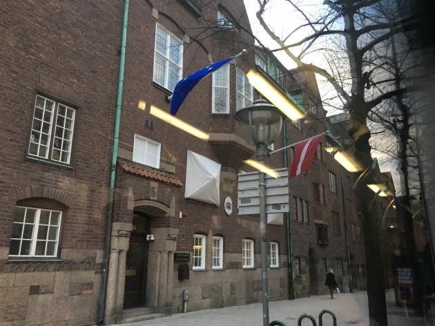 Lettlands ambassad
