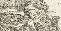 LaduWiken enligt den Carpelanska kartan från 1817.  Klicka på bilden för större format