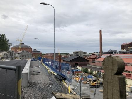 Gasverket Norra Djurgårdsstaden.  Gasverksvägen