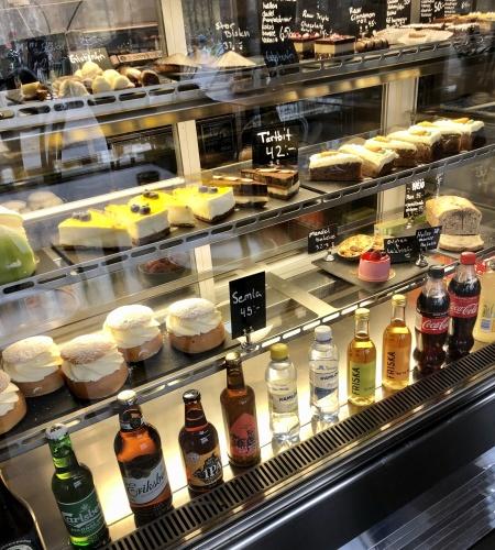 Café Två Bönor Norra Djurgårdsstaden