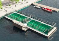 Padel Stockholms hamnar