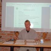 Ordf Göran öppnade mötet
