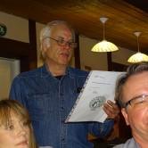 Bengt Nilsson läste upp revisorernas berättelse