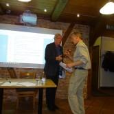 Göran tackade Ingmar för väl förd klubba