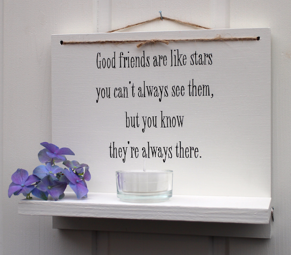 Good friends are like stars - Ljushylla