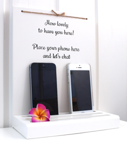 Mobilhylla engelsk text/Smartphone Stand English -