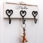 Krokbräda för nycklarna
