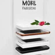 Hylla för 5 mobiltelefoner