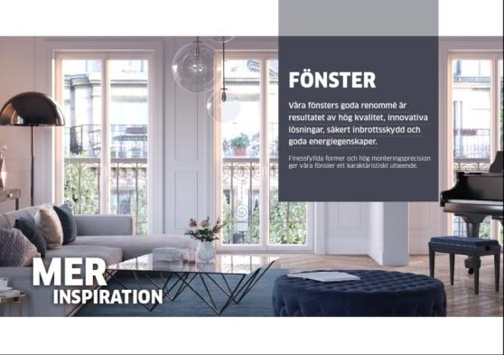 Copywriter och contentwriter till ett av de ledande företagen inom fönstertillverkning