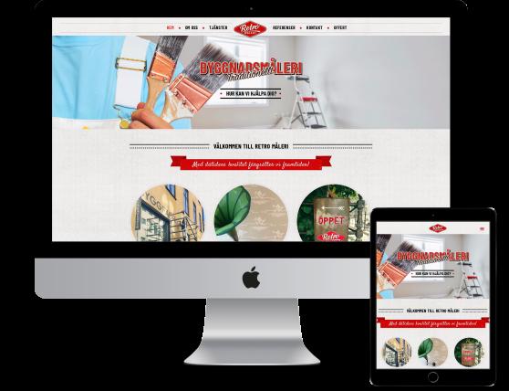 Ny hemsida med målande copywriting och content av Benny Karlsson Lilja på Ristretto Stockholm