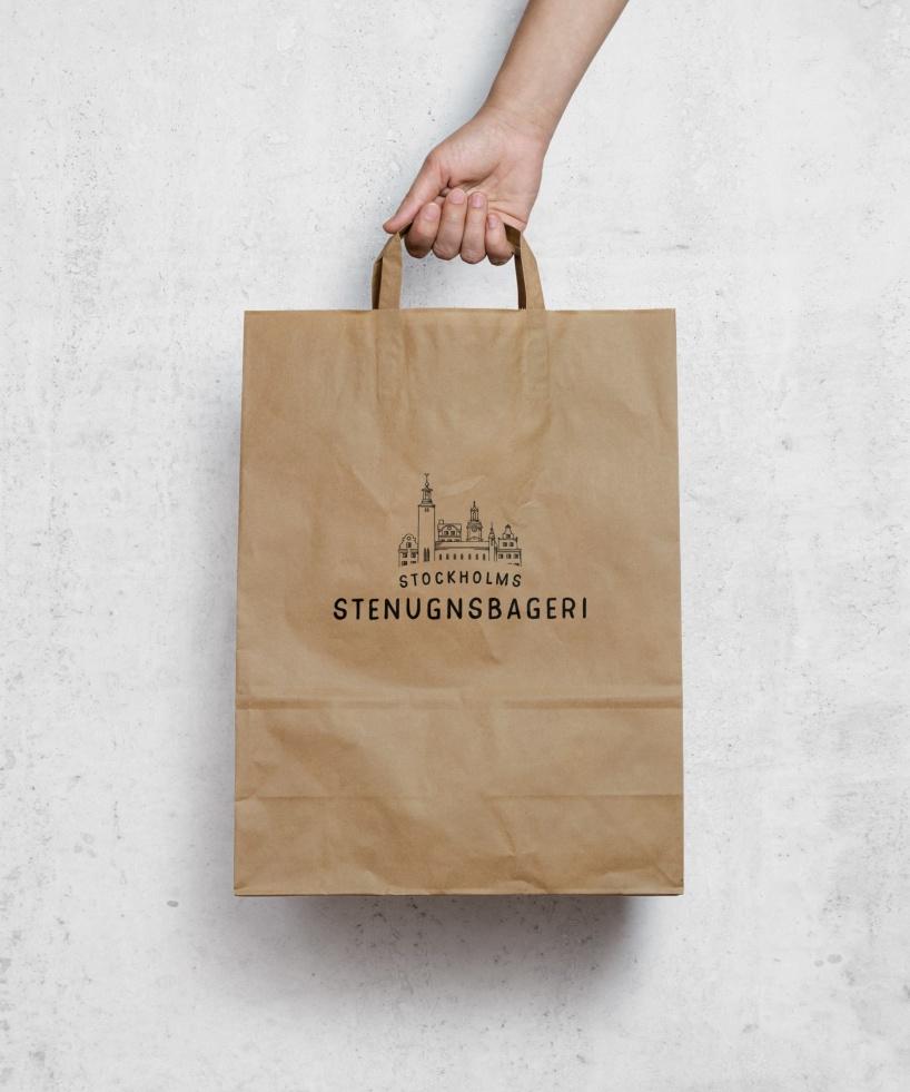 Ny logotyp och texter till Stockholms stenugnsbageri
