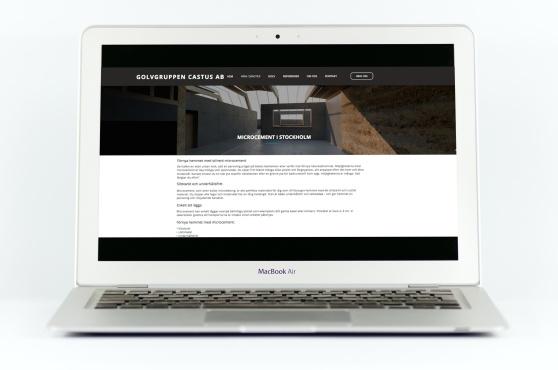 Uppdrag: Copywriter och contentskribent för Golvgruppen Castus nya hemsida