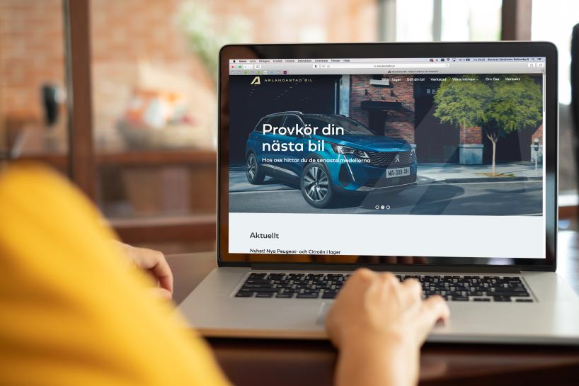 Copytexter och content till bilföretag