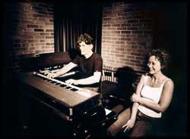 Janne Petersson och Charlotte Ericson låtskrivare, Decibel Studio Stockholm.