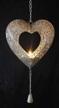 Gripsholm Hjärta för 3st värmeljus - Hjärta med 3st värmeljus