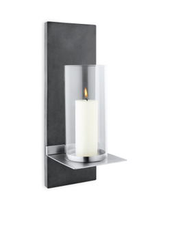 FINCA Wall Candle Holder w/ candle - 65422 FINCA Wall Candle Holder w/ candle
