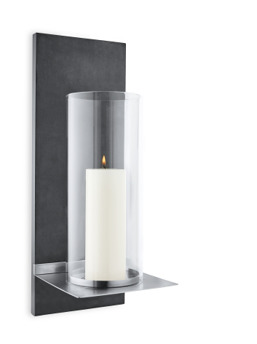 FINCA Wall Candle Holder w/ candle - FINCA Wall Candle Holder w/ candle