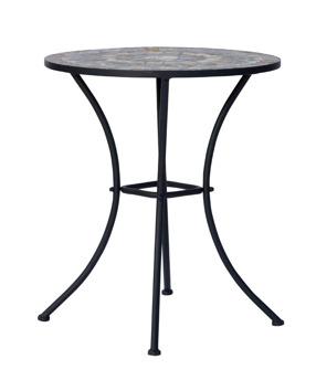 Cafébord i Mosaik med smide. - Cafébord i Mosaik med smide.