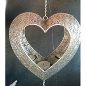 Gripsholm Hjärta för 3st värmeljus