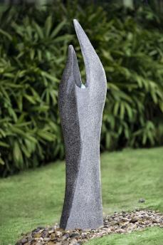 Modern fontän i Granit-look - Modern fontän i Granit