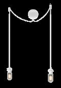 Sladdset Cannonball cluster/2 vit