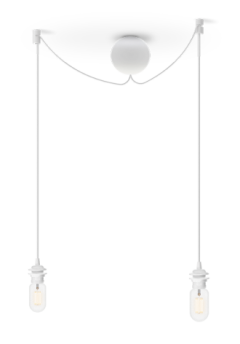 Sladdset Cannonball cluster/2 vit - Sladdset Cannonball cluster/2 vit