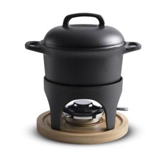 Fondueset med värmeställ - Le Gourmet - Fondueset med värmeställ - Le Gourmet