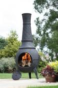 Mega Chiminea med grill