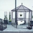 Paviljong i smide
