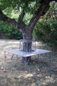 Trädbänk