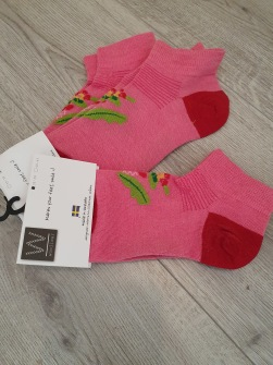 Lsv. Strumpor ankel Woolisar - Woolisar ankel strlk. 35-39 rosa