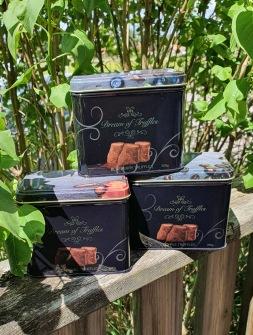 Chokladtryfflar - Caramel truffles