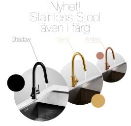 Stainless Steel även i färg