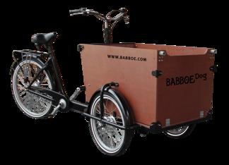 Babboe Dog - Brun låda omonterad