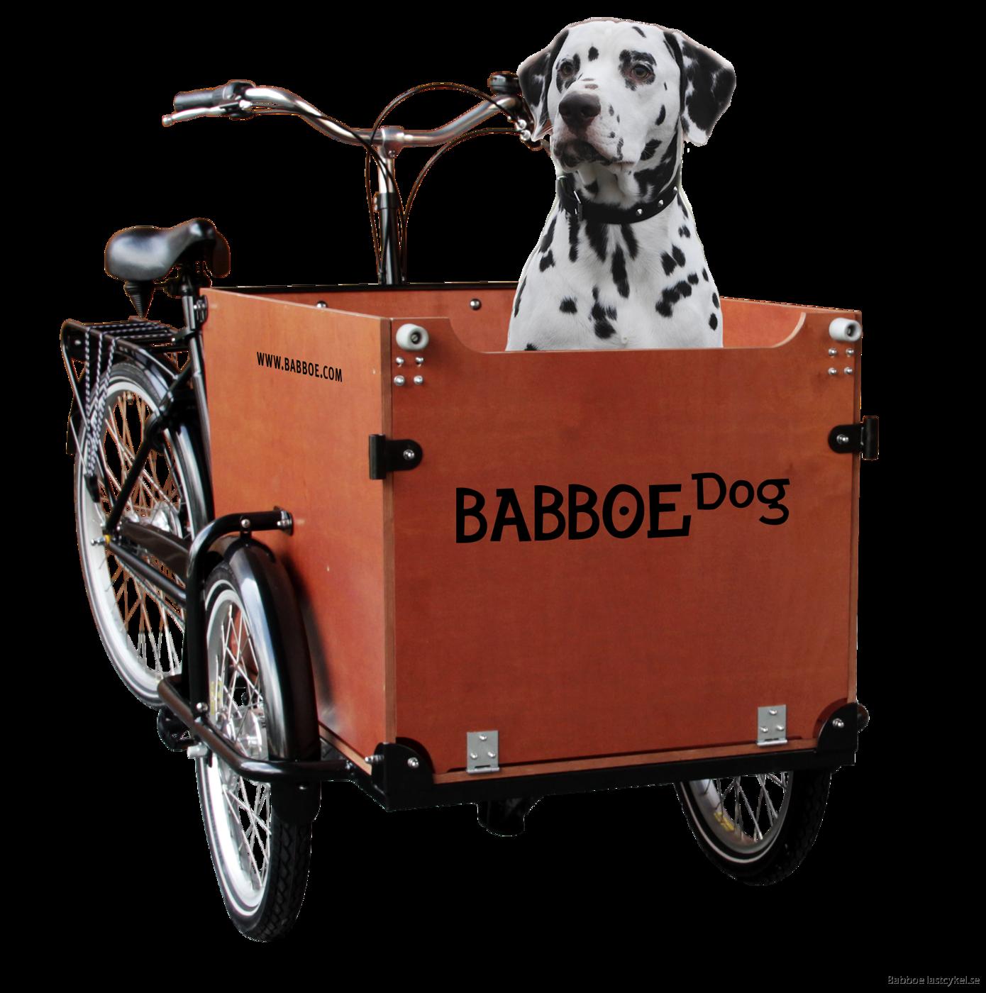 Babboe Dog brun med hund