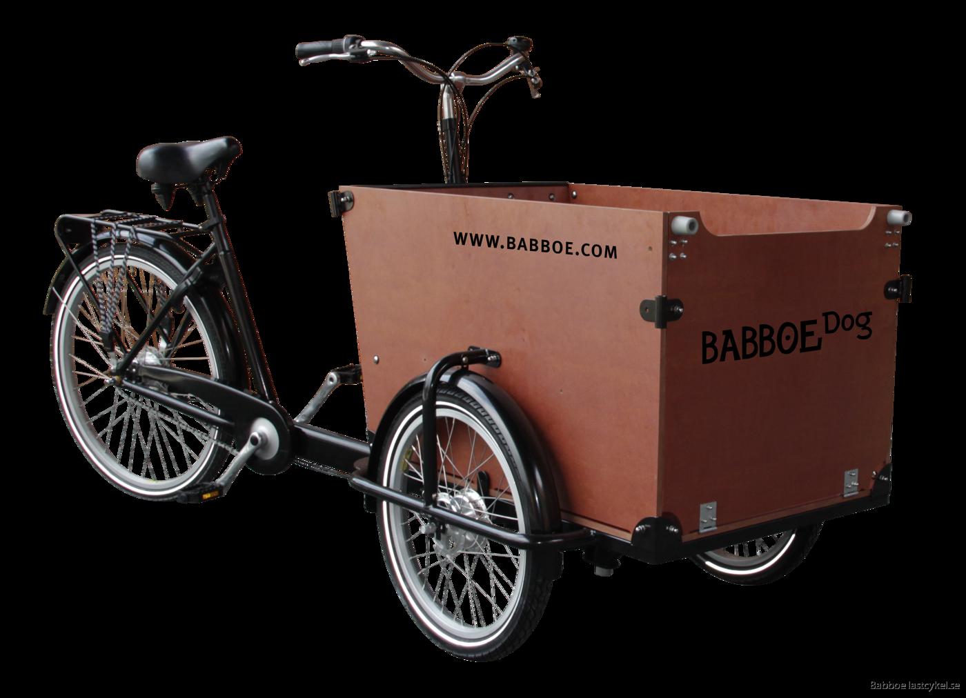 babboe dog brun