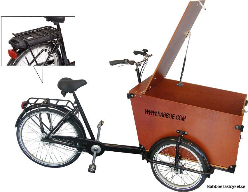 Babboe transporter Ellastcykel