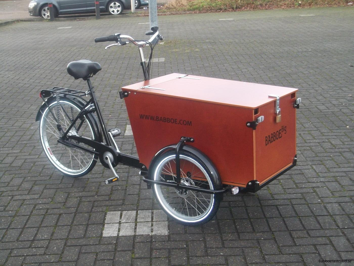 Babboe transporter lastcykel
